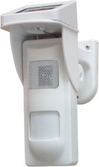 Solar Power Outdoor Spot Alarm Detector With Sound and Light Alert