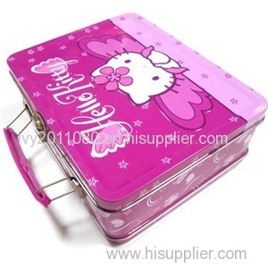 Hello Kitty Hinged Tin Box