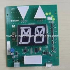 Sigma elevator parts PCB SM.04V12/B