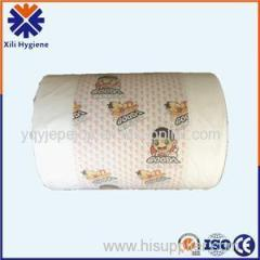 Various Thickness And Printing PE Lamination Film For Diaper