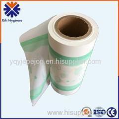 Moisture Proof Opaque Embossed PE Film For Diaper