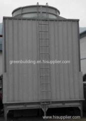 Square shape adverse current type high temperature cooling tower