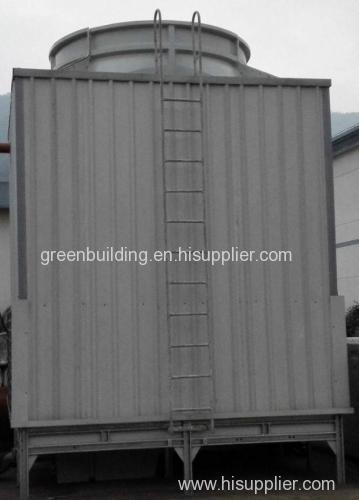 DF Square shape adverse current type high temperature cooling tower