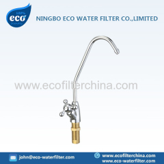 polished brass RO faucet
