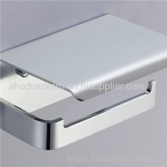 Stainless Steel Paper Holder With Brass