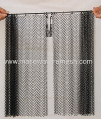 high quality fireplace spark curtain