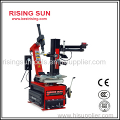Automatic used tire changer machine for garage