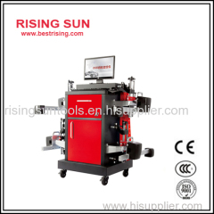 Mobile used CCD wheel alignment