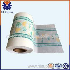Soft Customized Patterns Embossed PE Film For Diaper