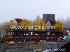 pf series impact crusher rock crushing plant