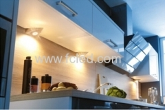 led triangle cabinet light