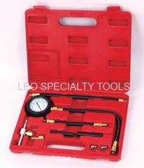 Fuel Injection Pump Injector Tester Pressure Test Gauge Gasoline Car Truck
