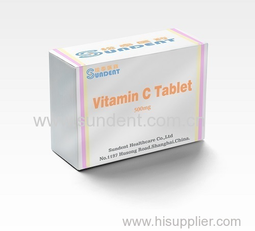 Vitamin C tablet 500mg