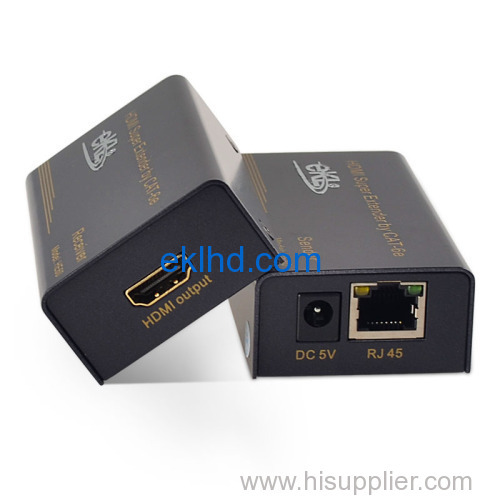 60m HDMI extender over single Cat6/Cat5e cable RJ45 HDMI Extender 60 meter