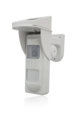 Solar Alarm PIR Detector With Sound and Light Alert No Trespassing