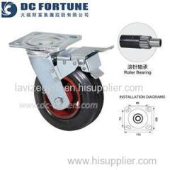 Rubber Caster Wheels Product Product Product