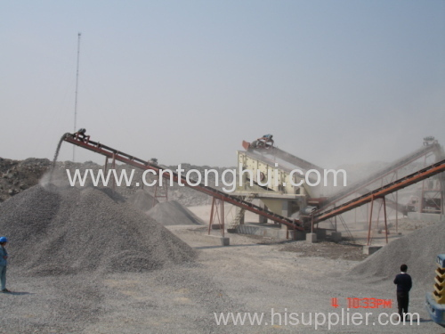 belt conveyor for stone ore conveying