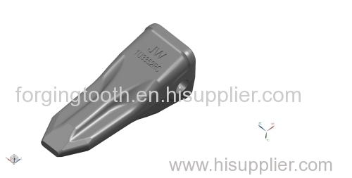 Rock chisel bucket teeth