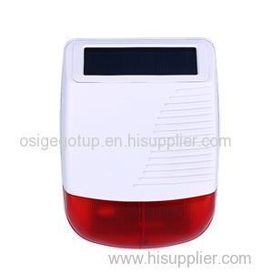 Outdoor Wireless Solarm Strobe Siren