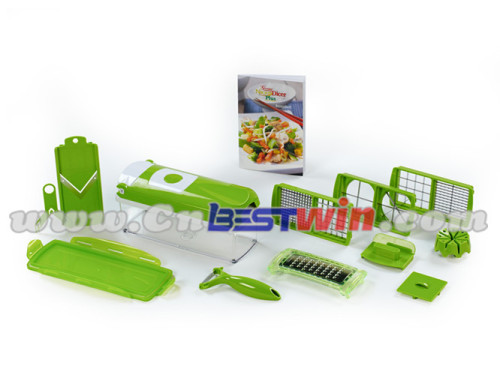 Multi-function PP Manual Nicer Dicer