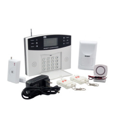 Security Burglar Alarm Systems With 8 Wired+ 99 Wireless Zones