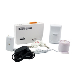 Burglar Security Home Alarm System 4 Wire / 6 Wireless With Self - Checking