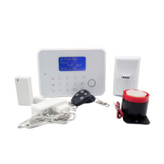 Touch Screen APP Operation GSM And PSTN Dual Net Alarm System