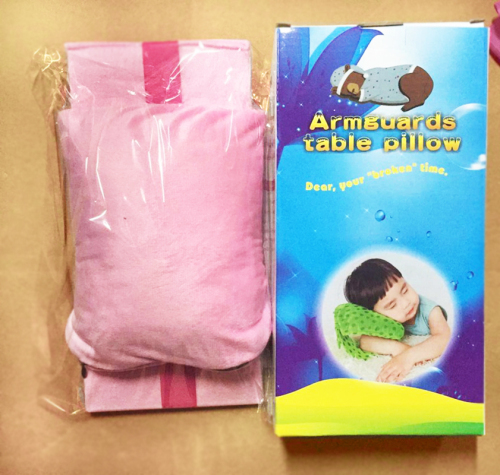 Armguard Table Pillow for children or office people have a nap