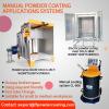 powder painting spray booth