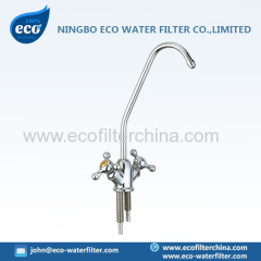 chrome plated brass faucet