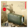 Outdoor waterproof IPX6 Bluetooth speaker wireless with high quality