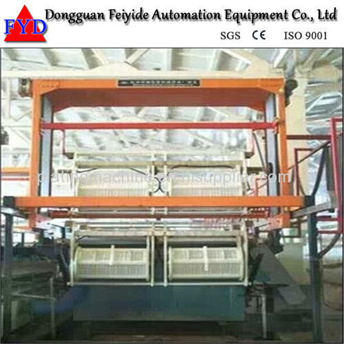 Feiyide Automatic ABS Chrome Barrel Electroplating / Plating Production Line