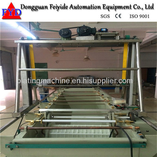 Feiyide Semi-automatic Zinc Barrel Plating Production Line for Screw / Nuts / bolts