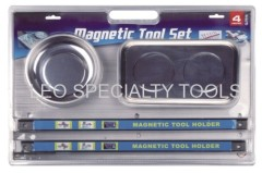 4pcs Magnetic Tool Holder & Tray Set