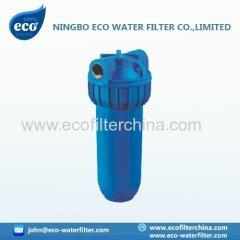 custodia di filtro dell'acqua di colore blu 10