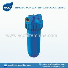 caja del filtro de agua de color azul 10