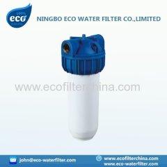 10 «style Italie boîtier de filtre à eau de couleur blanche