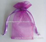 organza drawstring pouches bag