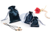 High Quality Custom Printed Drawstring Satin Jewelry Pouches Satin Bag