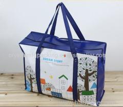 laminated fashion pp bag pp woven bag paper bag shopping bag
