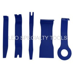 Car Removal Tool Kits 5 pcs Sets Auto Trim Upholstery Remover Installer Open Interior Pry Tools for Molding Dash Panel D
