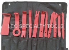 11 pcs Premium Auto Trim Upholstery Removal Kit Fastener Remover for Door Trim Molding Dash Panel
