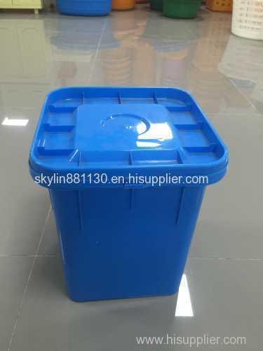 plastic biscuit dairy bucket mould