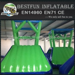 Water climbing inflatable tower