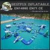 Big Inflatable Pool Lake Sea Floating Water Park Design Build