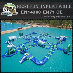 0.9MM PVC tarpaulin inflatable commercial water park