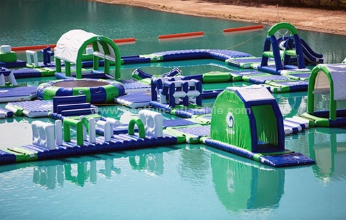 Big inflatable pool lake sea floating water park design Swimming pool water delivery service near me