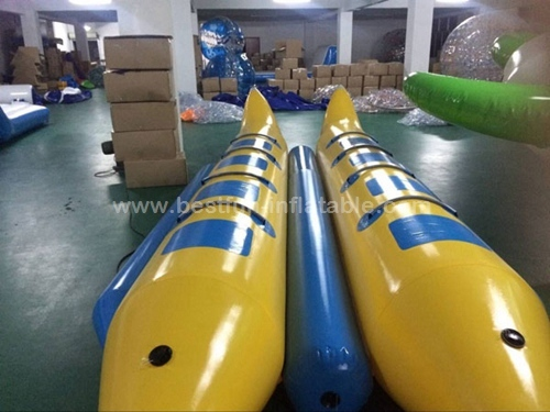 Commercial Grade Two Tubes Inflatable Banana Boat