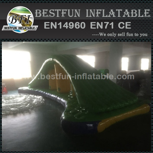 Inflatable watersport for commercial
