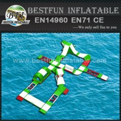 Inflatable Floating Obstacle Course Water Park